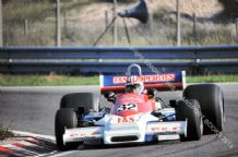 "MARCH 761  Michael Bleekemolen at speed 1977 Dutch GP. 10x7"" photo"